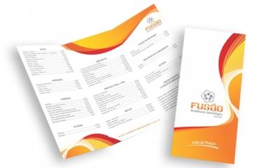 Folder Campinas | Impressos A3 e A4 | 1 ou 2 dobras