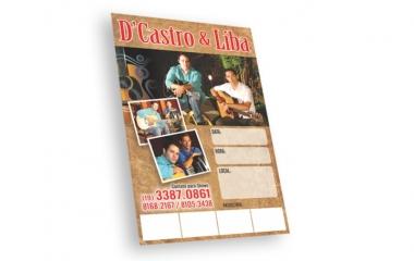 Cartaz Campinas | impressos em A3 e A4