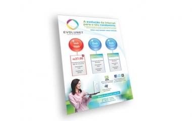 Folheto Flyer  | impressos em papel couche |