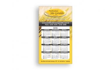 Imã de geladeira campinas | com ou sem calendário, opcional com corte especial ou comum